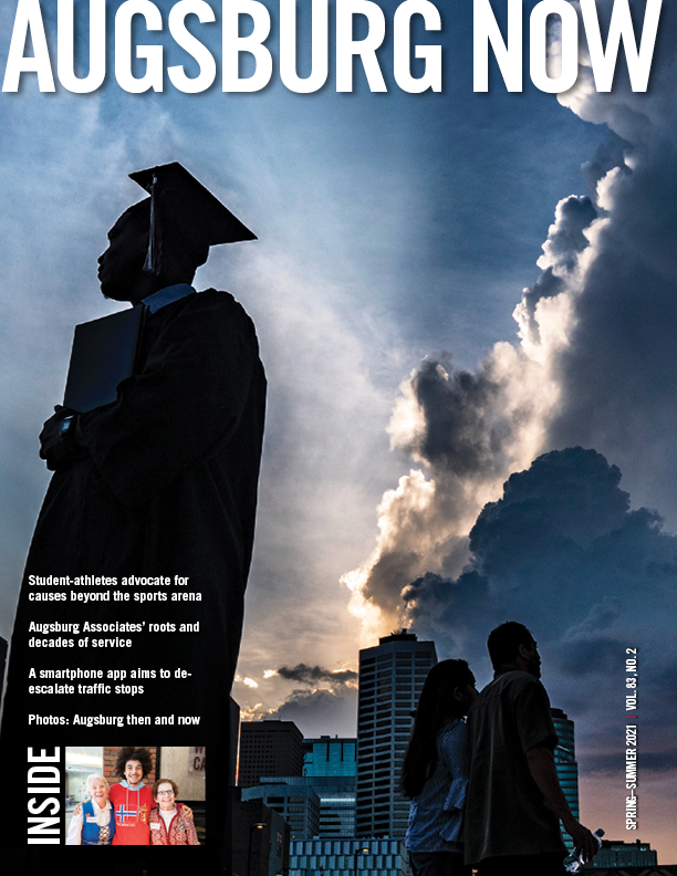 Augsburg Now Cover for Spring–Summer 2021 issue.