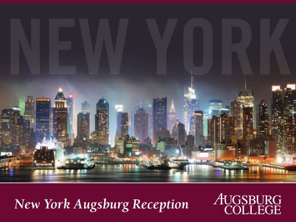 NY Alumni Reception