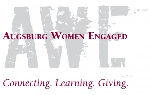 Augsburg Women Engaged. Connecting. Learning. Giving.