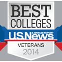 Award: U.S. News Best Colleges - Veterans - 2014
