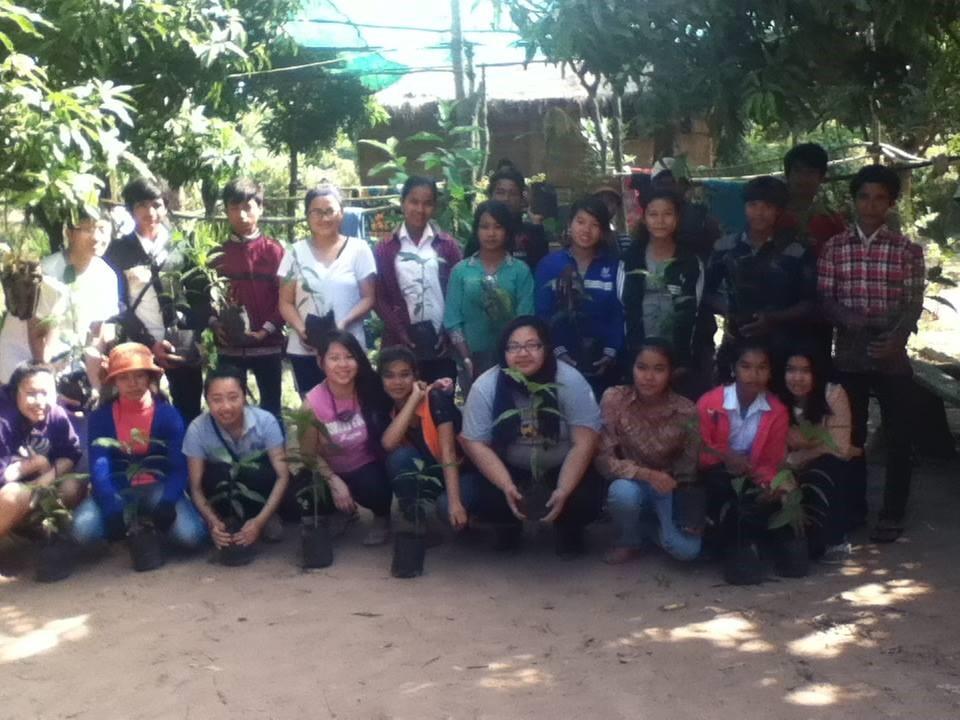 Auggies in Phnom Penh, Cambodia