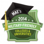 Award: MAE's 2014 Military-Friendly Colleges & Univiersities