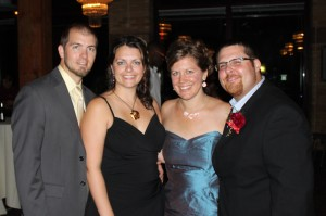 Matt and Nadine Gregerson, Katie Lindenfelser, and Matt Christensen