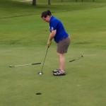 Anne Osberg Moore golfing