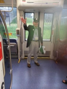 Paul on the Green Line