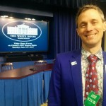 Ross Murray '00 at the White House Forum on LGBT Human Rights