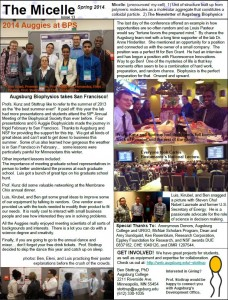 Spring 14 Issue - Biophysics Newsletter (page 2)