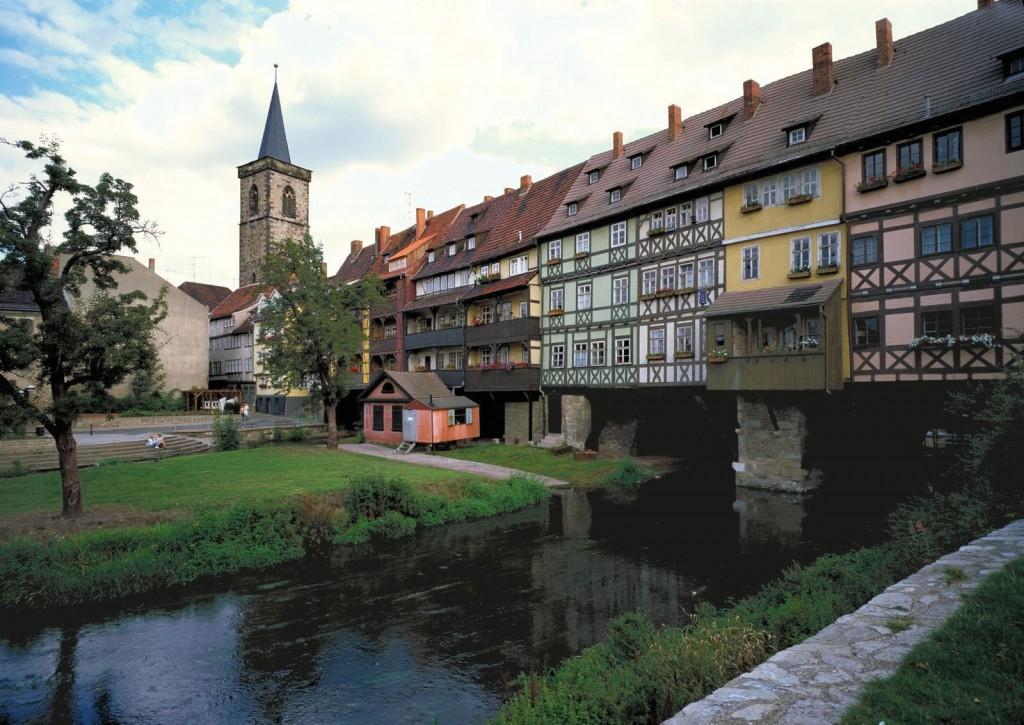 Erfurt Merchants Bridge