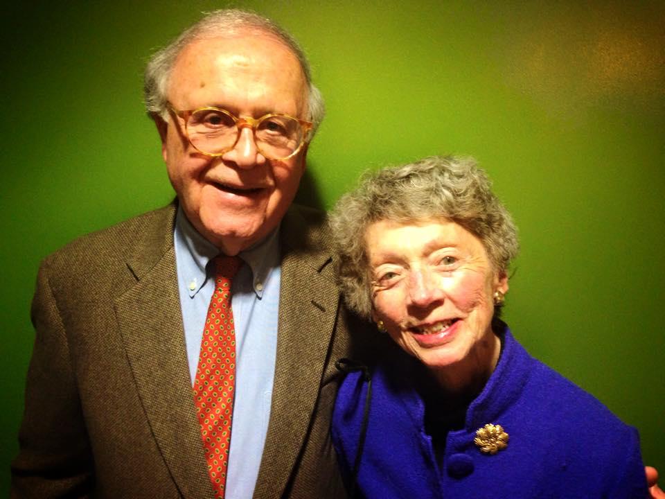 Mark Raabe '53 and wife Jean Raabe.