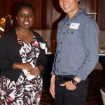 Guests at Augsburg Rochester Networking event
