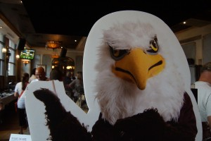 Auggie Eagle standup