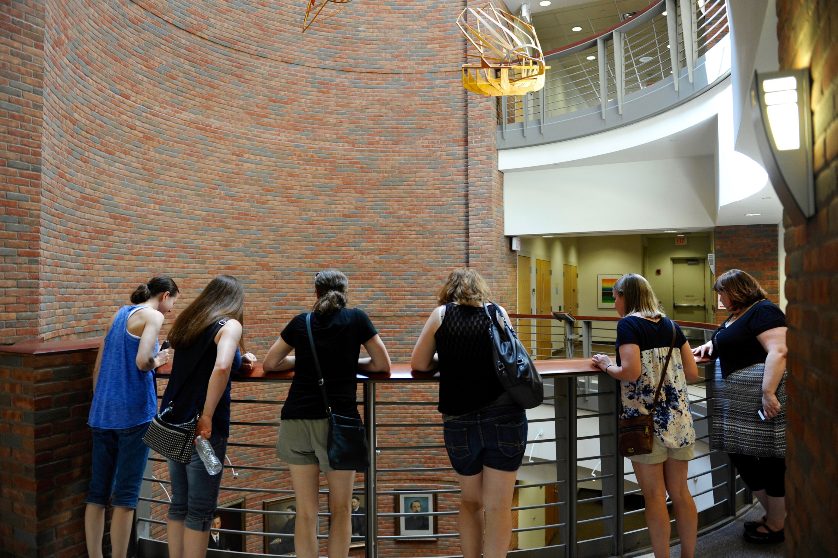 Lindell Library opened to students in 1997, the group's first year on campus.