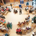 Special musicians from Norwegians will join the Augsburg community for Chapel, as will traditional dancing.