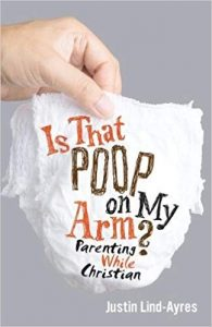 Is That Poop On My Arm? book cover of hand holding a diaper