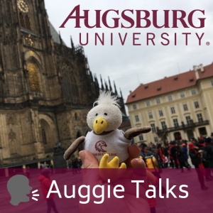 Auggie Talks, Auggie Eagle abroad in Germany