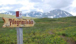 pilgrimage sign