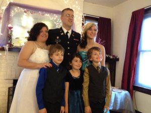 Jon and his family