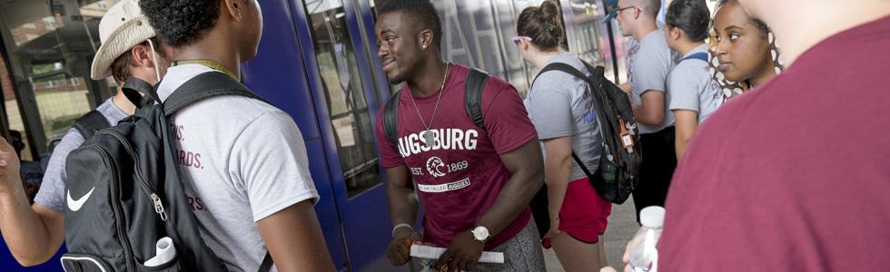 Augsburg students