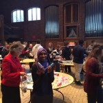 Yasmin Abdulaya, Director of Health Equity and Food Justice, AmeriCorps VISTA, at Augsburg, was an organizer of the event