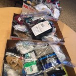 Over 200 hygiene kits were created for those in need and brought down to Central Lutheran Church