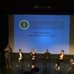 Panelists at the President's Campus Challenge in Washington, DC