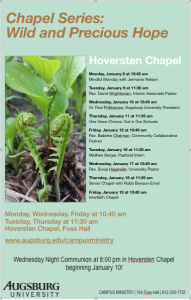 Image of poster for Chapel Series