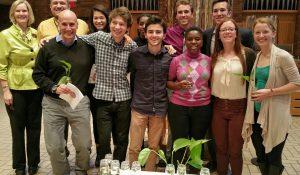 Past Interfaith Scholars with Sonja Hagander and Matt Maruggi