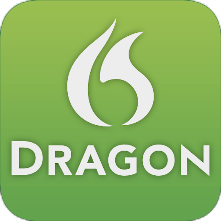 Dragon Dictate Logo