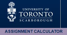 University_of_Tronoto_Scarborough_assignment_calculator_logo