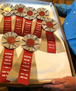 StepUP award ribbons