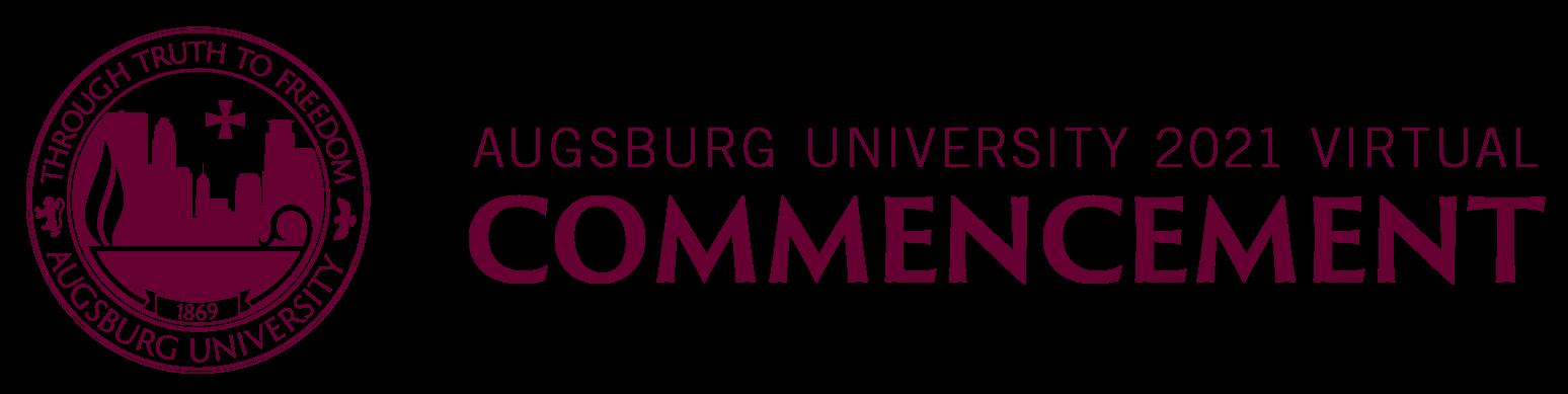 Augsburg University 2021 Virtual Commencement