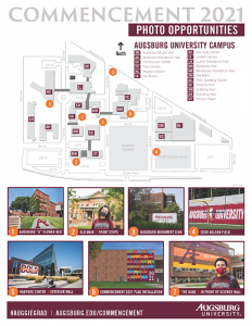 Commencement Photo Ops Map
