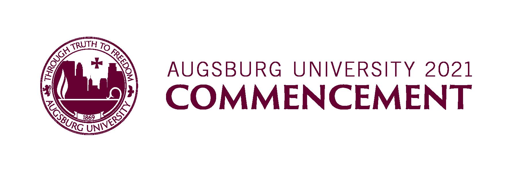 Augsburg University 2021 Commencement