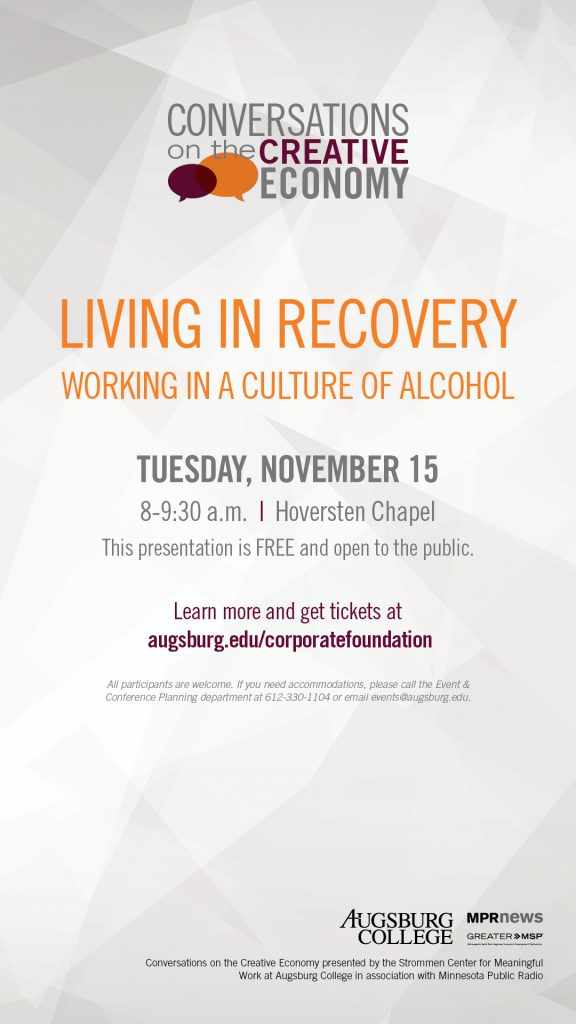 Living In Recovery - Working In A Culture of Alcohol