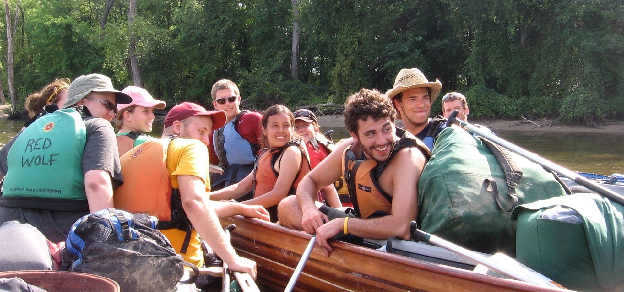 River Semester Students