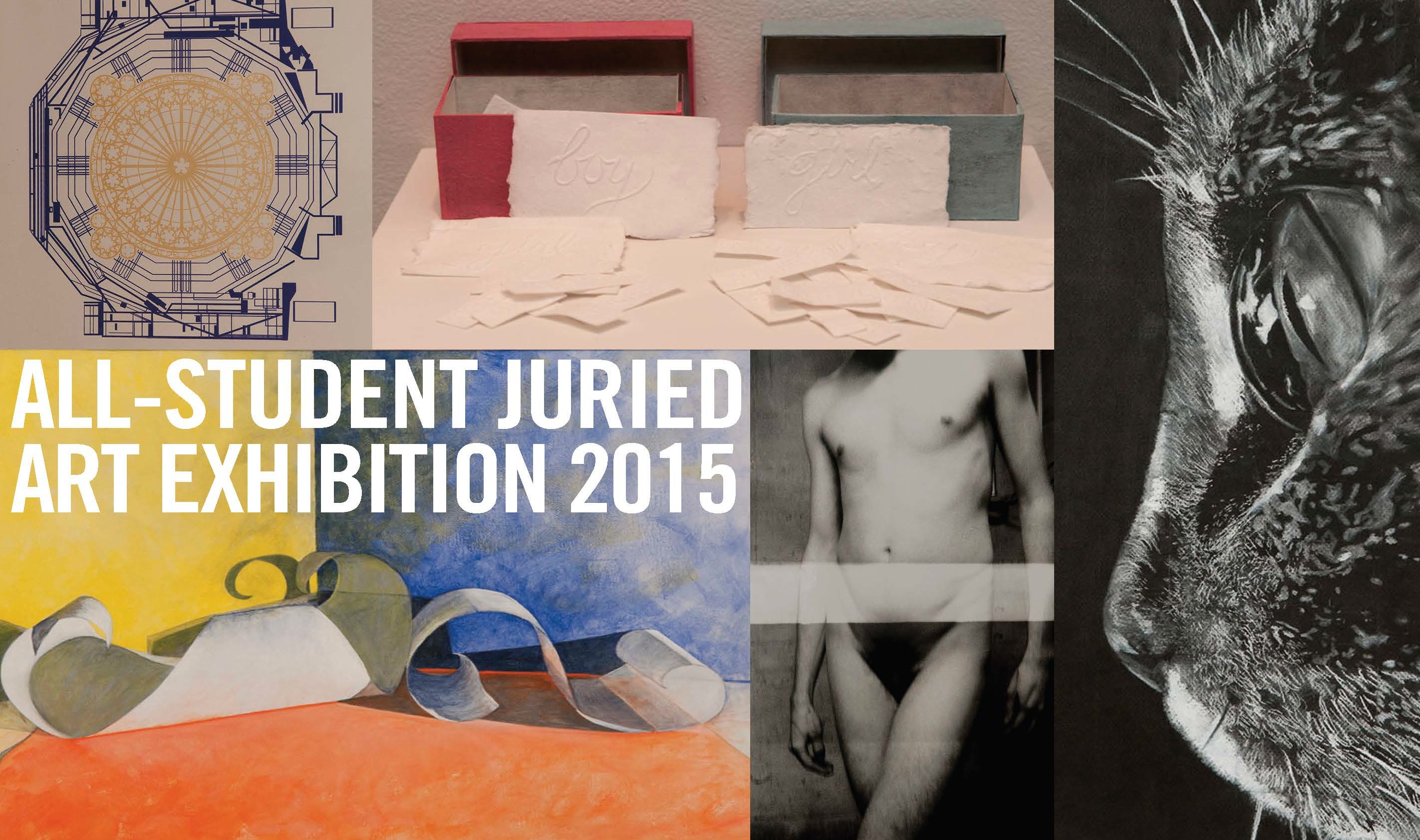 All Student Juried Show 2015
