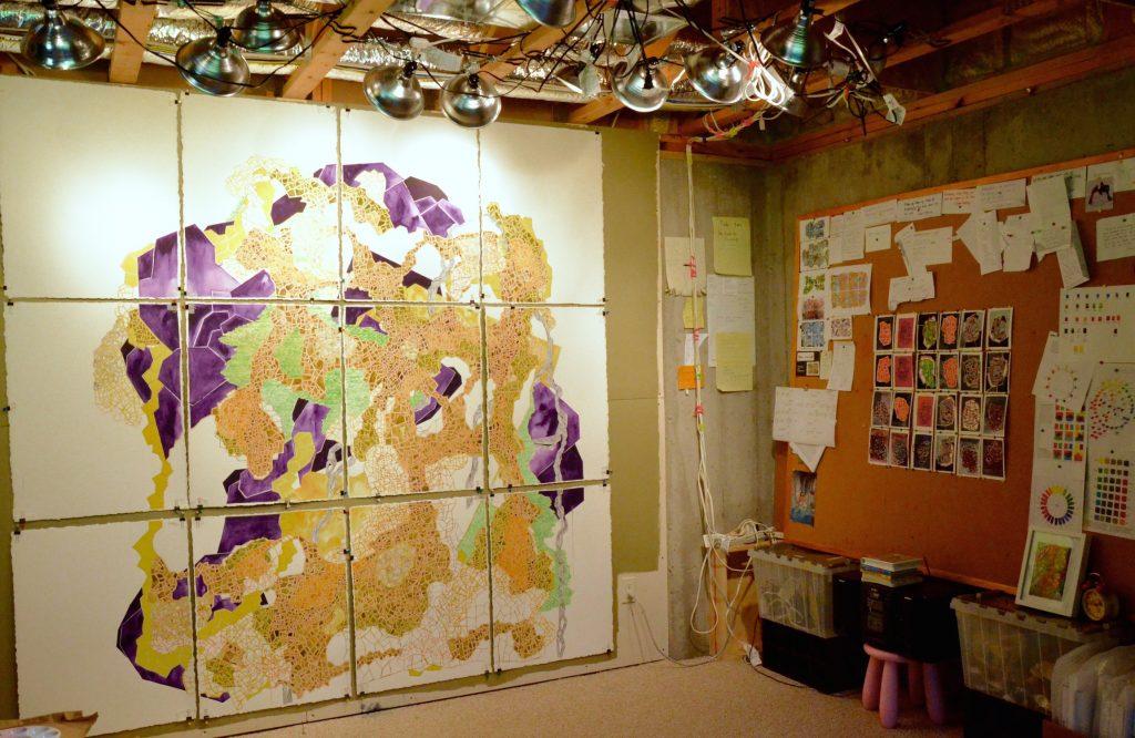 Keren Kroul's studio