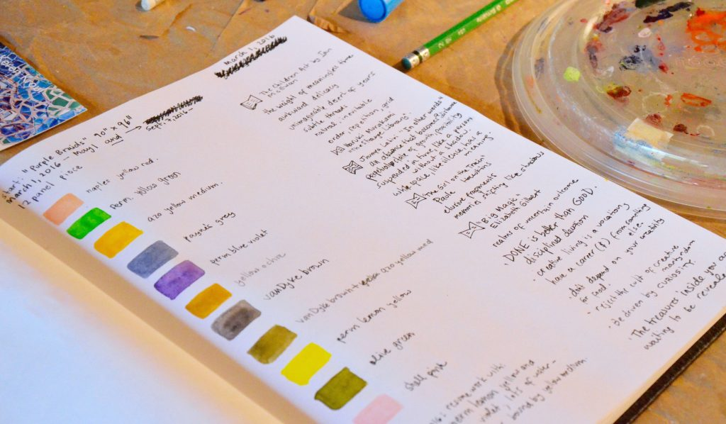 Keren Kroul's sketchbook