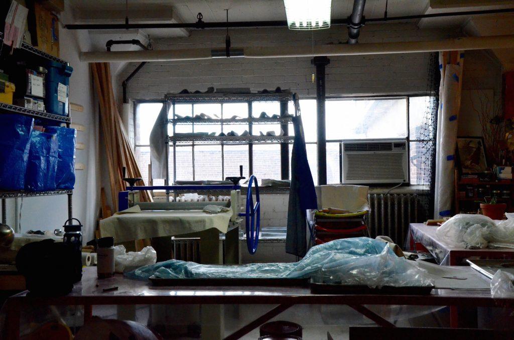 Eileen Cohen's Artist Studio