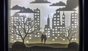 Shadow box by Jessie Hotchkiss