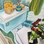 "EBELIN MORALES DELGADO All My Flowers | Graphite and watercolor, 2021, 5.5"" x 8.5"""