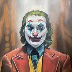 "EBELIN MORALES DELGADO, Joker | Oil Paint, 2021, 18"" x 24"""