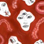 GLORIA VANG, we're all the same inside | Digital drawing, 2020, 2085x3000px