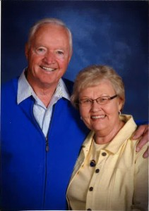 Earl and Joyce Hauge '63
