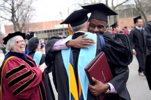 Graduate Hug