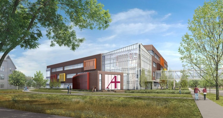 Hagfors building rendering