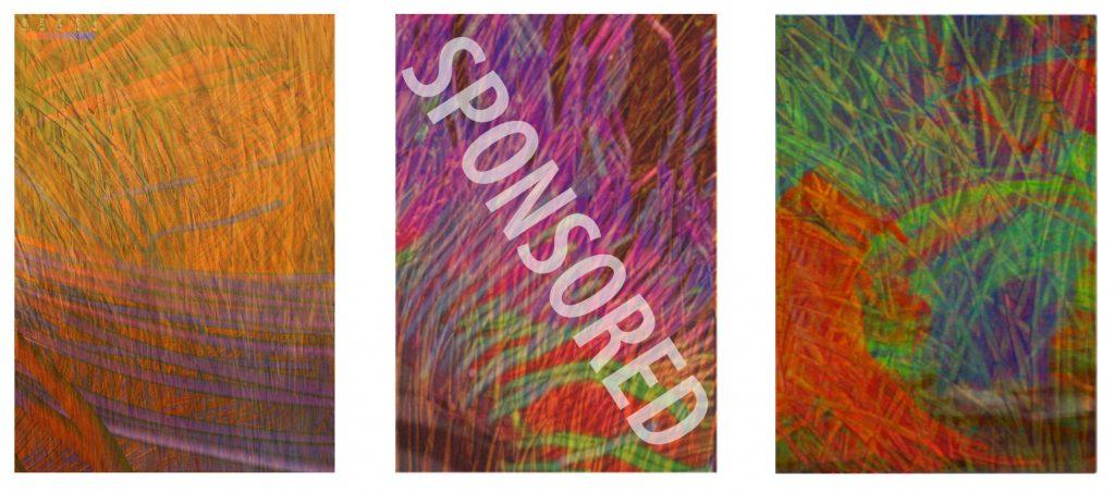 "Joonja Mornes""Mindscape"", No. 1-360"" X 42"" eachacrylic on canvas with canvas Sponsorship Level: $5,700 eachHagfors Center location: Level 2"