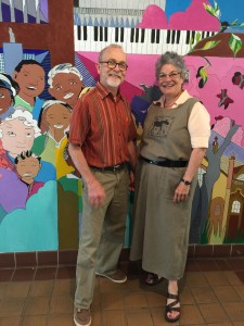 Paul and Diane Jacobson at Redeemer Lutheran.