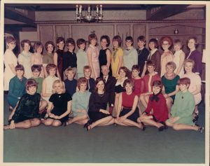 A photograph of the Fairvew Nurses class of '69