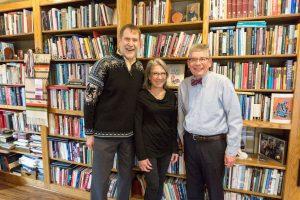 Jim, Brenda and President Pribbenow